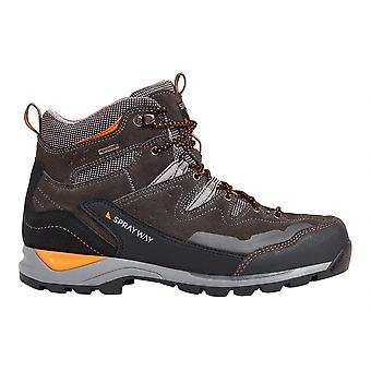 Sprayway Mens Oxna Mid Suede Closer Fit Walking Boots