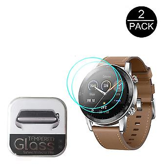 2.5d Tempered Glass-screen-protector For Huawei Honor Magic-watch 2 Gt 2 2e 42mm/46mm Smartwatch Screen Guard Protective-film