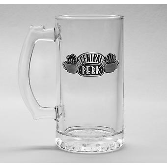Friends Central Perk Glass Stein