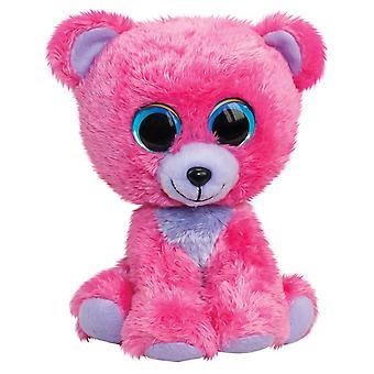 Lumo Stars Classic Bear Raspberry Plush Toy