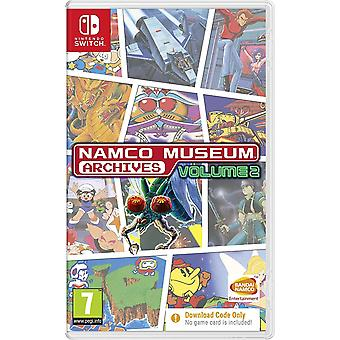 Namco Museum Archives Vol. 2 Switch Game (Code dans une boîte)