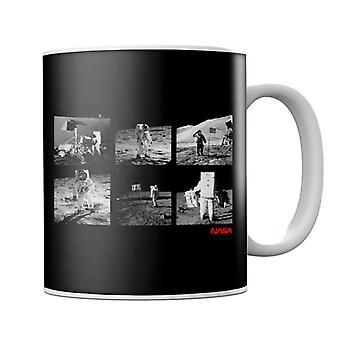 NASA Apollo 11 Landing Photos Mug