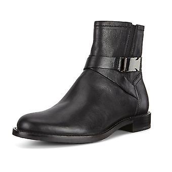 ECCO Ecco 206673 Sartorelle 25 side zip läder boot i svart