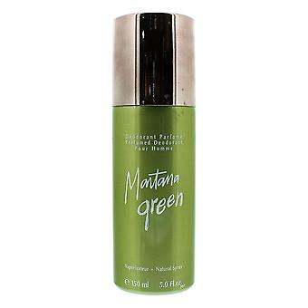 Montana Green Pour Homme Perfumed Deodorant 150ml