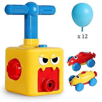 Education Fun Puzzle Power Balloon Launch Tower Science Experiment Toy