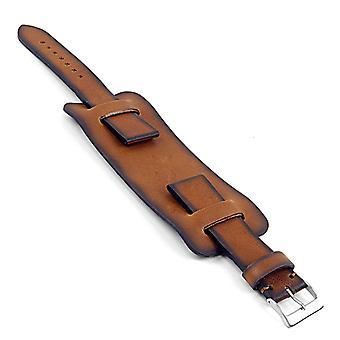 Strapsco dassari gauntlet vintage leather cuff bund strap