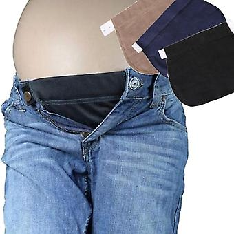 Pregnant Maternity Pants Belt Elsatic Waist Extending Button Comfortable