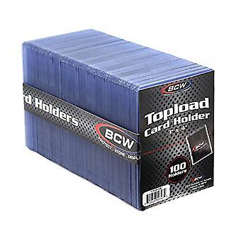 "BCW Κορυφαίος κάτοχος κάρτας φορτίου Τυποποιημένος 100 Ct (3"" Χ 4"")"