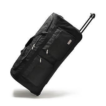 Erittäin suuret liikkuvat matkatavarat / iso vaunu matkalaukku, pyörillä kangas korkea