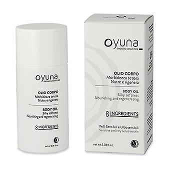 8 ingredients - silky softness body oil 100 ml