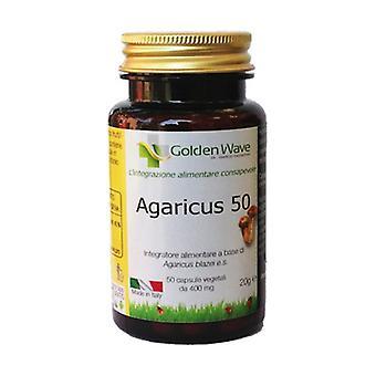 Agaricus 50 50 vegetable capsules of 400mg