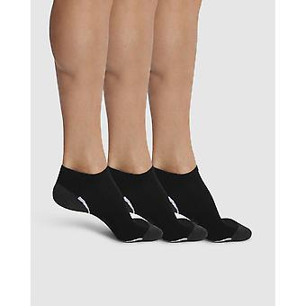 Lot Of 3 Pairs Of Black Socks