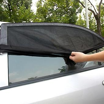 Window Sun Shade Black Mesh Cover