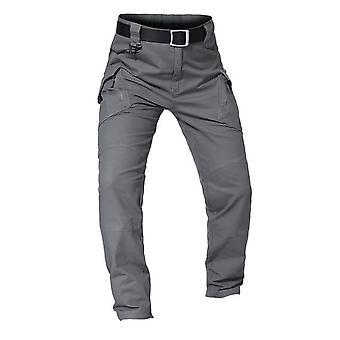 Tactical Multiple-pocket, Elasticity Slim-fat, Cargo Trousers, Pant