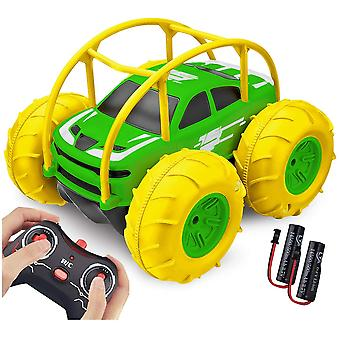 ❤【Long play time ≥ 60 Min】Euipped with two upgraded batteries rechargeable and a usb charger all included in the package. Strong power make the ready-to-run off-road remote control car keep an outstanding performance. 60 Minutes of long play time on a non