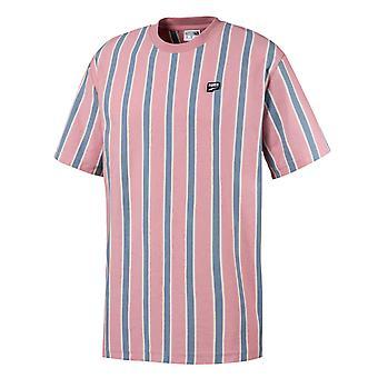 Puma Męskie Śródmieście Paski Tee Casual Różowy T-Shirt 595687 14