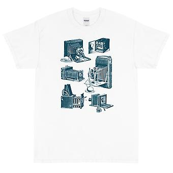 Antique appareil photo classique & s - T-shirt à manches courtes, hommes