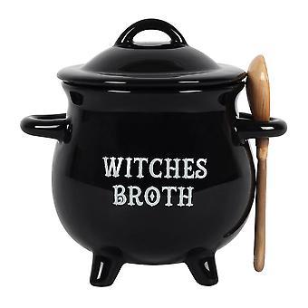 Etwas anderes Hexen Brühe Kessel Suppe Schale