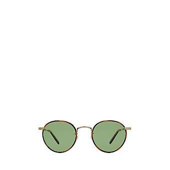 Garrett Leight WILSON SUN demi blonde-gold unisex sunglasses