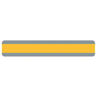 "Double Wide Sentence Strip Reading Guide, 1.25"" X 7.25"", Goldenrod"