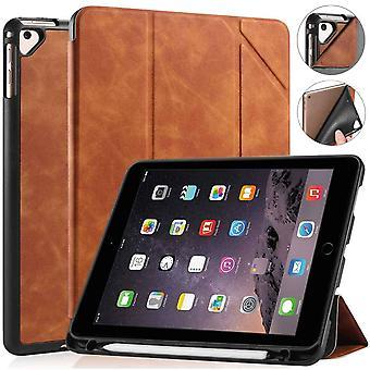 Smartcover Boekmodel Hoes iPad 2017 (5e Gen) / iPad 2018 (6e Gen) - 9.7 inch - Bruin