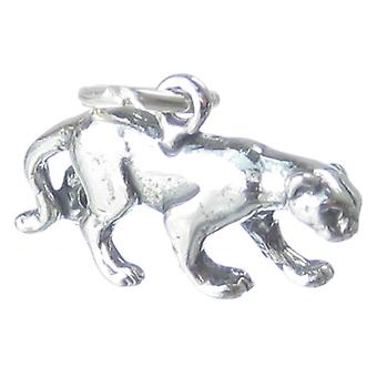 Florida Panther Sterling Silver Charm .925 X 1 Panthers Charms - 3550