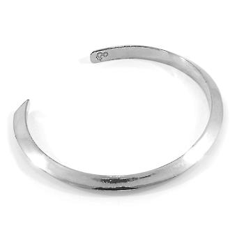 ANKARE & BESÄTTNING Benson Triagonal Maxi Wayfarer Silver Armband