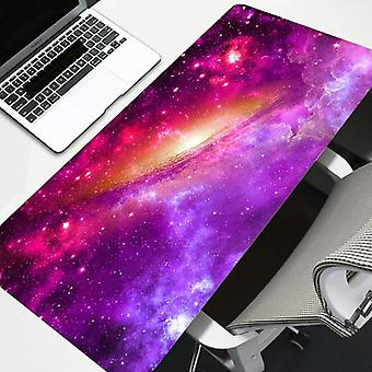 Galaxy Mouse Pad Large Gaming Accessories Computer Desk Led Non-slip Keyboard