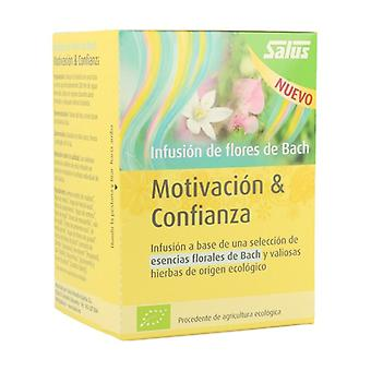 Bach Flowers Motivation & Trust Infusion 15 infusion bags