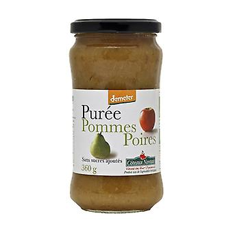Apple and pear puree without sugar 360 g