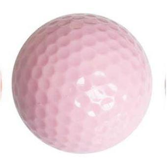 אימון כדור גולף צבעוני לשחקן גולף