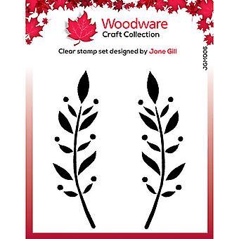 Woodware Clear Postimerkit - Singles - Dorothy Leaf