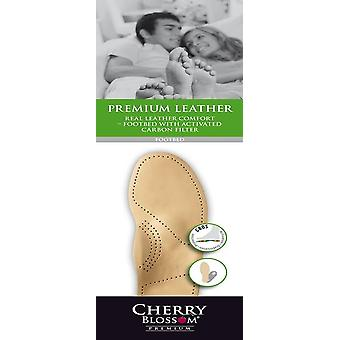 Cherry Blossom Premium Leather Comfort Footbeds for Women