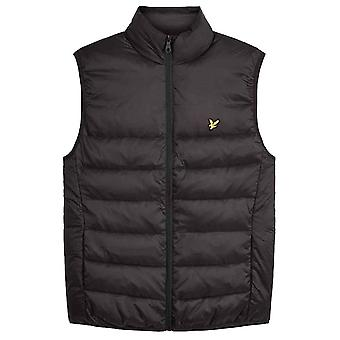 Lyle & Scott Wadded Gilet - Jet Black