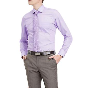 Chemise en coton coupe Ajustée