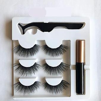 Magnetic Eyeliner False Eyelash Set