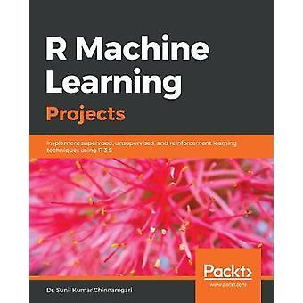 R مشاريع التعلم الآلي - تنفيذ تحت إشراف - غير خاضعة للرقابة -