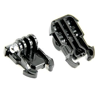 2 Pcs Camera Quick Pull Activity Base Mount For Go Pro Hero
