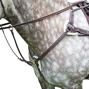 Salisbury Leather Stitch Horse Breastplate