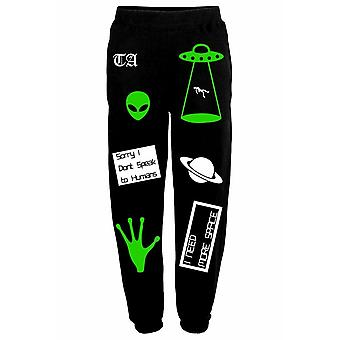 Twisted Apparel Alien Mashup Sweatpants