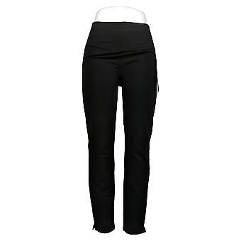 Kvinder med Control Women's Bukser Slim Leg Black A391211