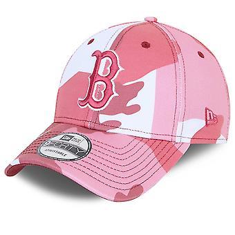 Новая эра 9Forty Strapback Cap - Бостон Ред Сокс розовый камуфляж