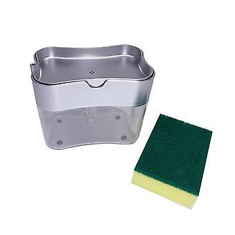 Boîte et éponge de distributeur de savon