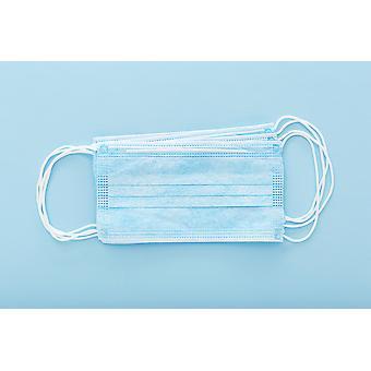 Masque facial de protection du nez et de la bouche (paquet de 10 )