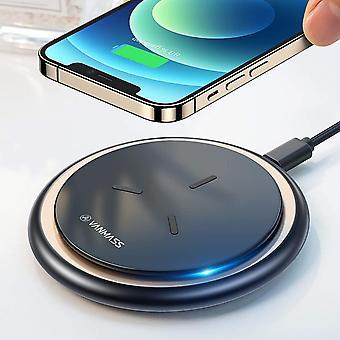 FengChun Fast Wireless Ladegerät 15W 2021 Neuste Qi Ladestation 10W 7.5W Kabelloses Ladepad Induktions