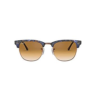 Ray-Ban 0RB3016 Sunglasses, Blue (Spotted Brown/Blue), 49 Men's