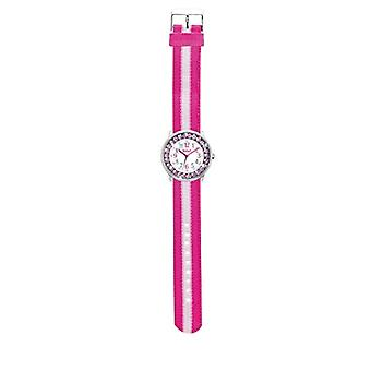 Scout 280381010 - Mädchen Armbanduhr, analog, Quarz, Nylon