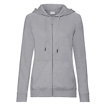 Russell Womens/dames HD Zip Hooded Sweatshirt