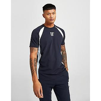 New 11 Degrees Cut T-Shirt from JD Outlet Blue
