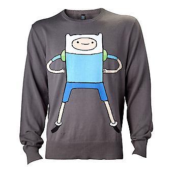 Äventyrstid - Finn Men's Medium Sweatshirt - Svart